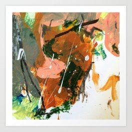 Untitled Abstract-Temper Art Print
