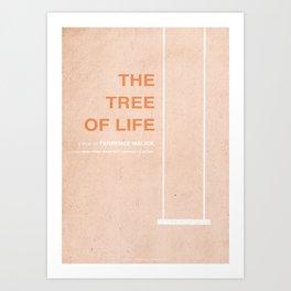 The Tree of Life - MINIMALIST POSTER Art Print