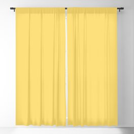 From The Crayon Box – Dandelion Yellow Solid Color Blackout Curtain