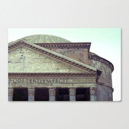 Pantheon Canvas Print