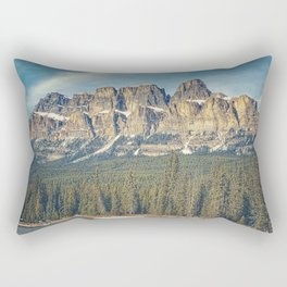 Castle Mountain Rectangular Pillow