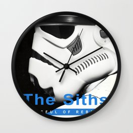 The Siths-Hateful of Rebels Wall Clock