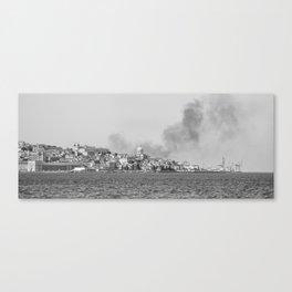 Lisbonne sur le Tage Canvas Print