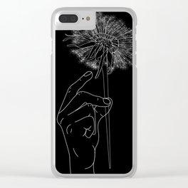 Sopra-te Clear iPhone Case