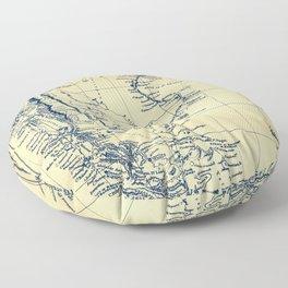 Patagonia - Blue Vintage Floor Pillow