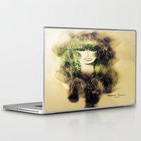 emerald Laptop & iPad Skins featuring Emerald by Cornelia Baciu