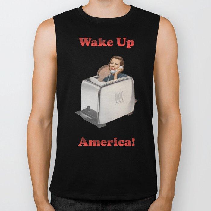 Wake Up Call Biker Tank