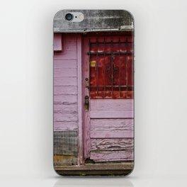 The Pink Door iPhone Skin