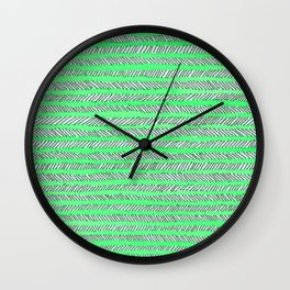Arrow - Green Wall Clock