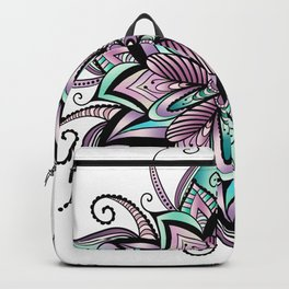 Mandala peacock by sonia H. Backpack