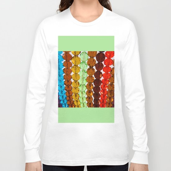 Purty Crystal Beads 2 Long Sleeve T-shirt