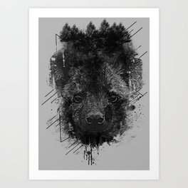 Young Predator Art Print