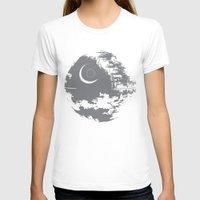 death star T-shirts featuring Death Star by Krakenspirit