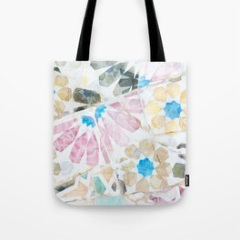Mosaic of Barcelona XV Tote Bag