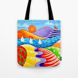 A Dear View Tote Bag