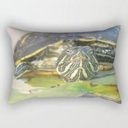 Turtle Yertle Rectangular Pillow