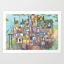 Chapman's House of Dreams 1 Art Print