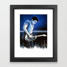 John Mayer Blues Framed Art Print