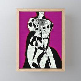 Abstract Figure Study Framed Mini Art Print