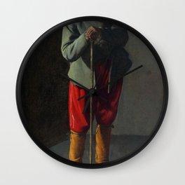 Georges de La Tour - Old Man Wall Clock