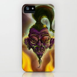 Rebel Shrunken Head iPhone Case