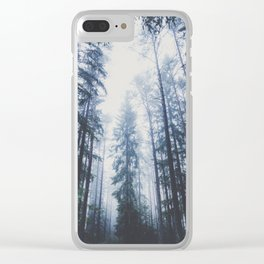 The mighty pines Clear iPhone Case