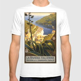 La Riviera italienne, Portofino près de S.Margherita et Rapallo T-shirt