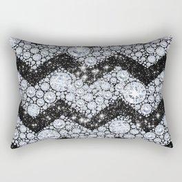 CHEVRON - Diamonds and Stars Rectangular Pillow