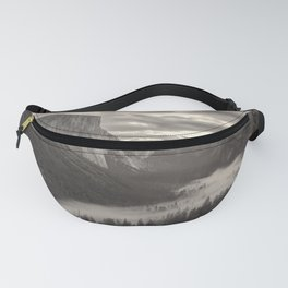Fog in The Valley Fanny Pack