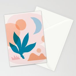 Abstraction_Nature_Companion_001 Stationery Cards