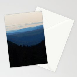Chic-Choc Mountain Tops Stationery Cards