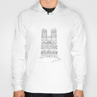 architecture Hoodies featuring Architecture by PINT GRAPHICS