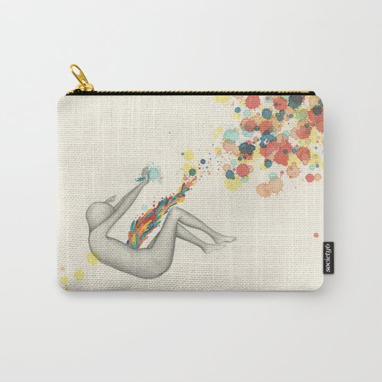A Perceptible Hesitation Carry-All Pouch