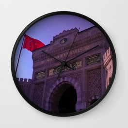 In this building educated. Wall Clock