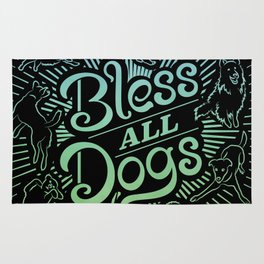 Bless All Dogs Rug
