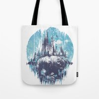 wanderlust Tote Bags featuring Wanderlust by Robson Borges