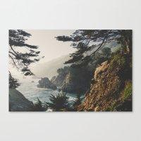 big sur Canvas Prints featuring Big Sur by Ryan Matthew