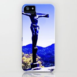 Human! God who sees and hears everything. iPhone Case