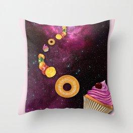CANDY CRASH Throw Pillow