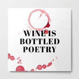 wine bar no. 3 Metal Print