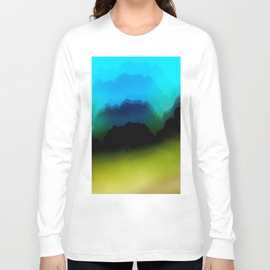 Misty Mountain View Long Sleeve T-shirt