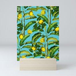 Lemon and Leaf II Mini Art Print