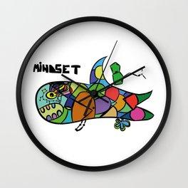 Mindset Shark - Follow your dream Wall Clock