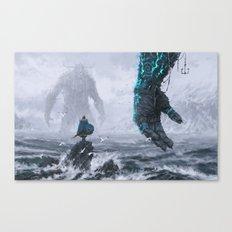 Duel Canvas Print
