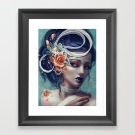 Ribbons and Deciet Framed Art Print