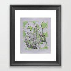 The World Traveler Framed Art Print