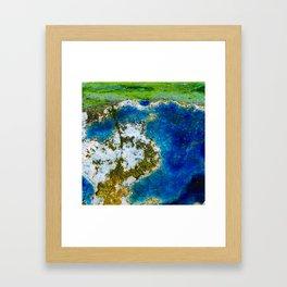 Ocean Vibe Framed Art Print