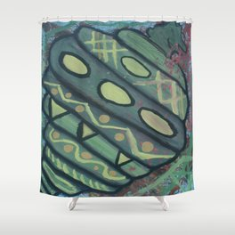 Survival of the Fittest Shower Curtain