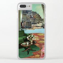 Dream House II Clear iPhone Case