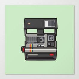 #43 Polaroid Camera Canvas Print